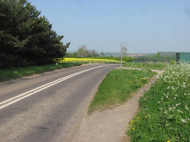 Former A303 near Ilminster