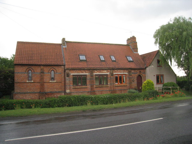Former chapel of ease, North Kelsey Moor