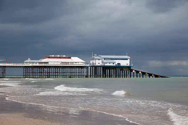 The end of the pier at Cromer