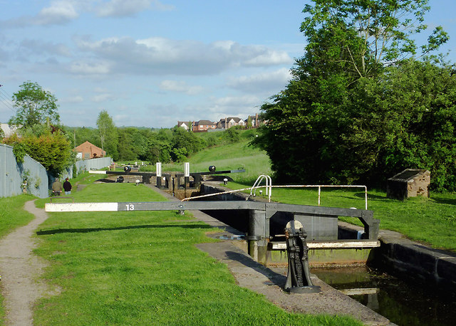 Cheddleton Top Lock, Staffordshire