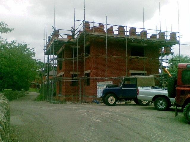 New house, Snake Lane, Duffield