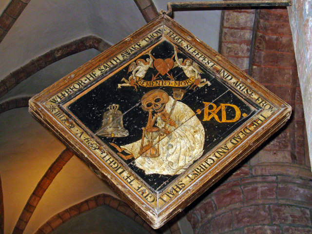 St Magnus Cathedral, Kirkwall: the mort brod