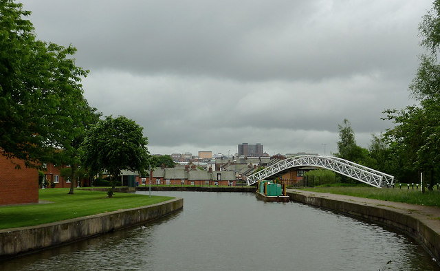 The Caldon Canal at Etruria, Stoke-on-Trent