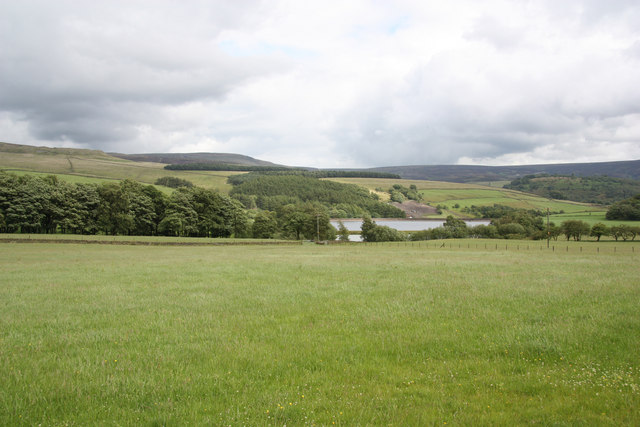 View from Woodhead Road
