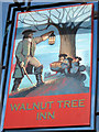 TR0636 : Walnut Tree Inn sign by Oast House Archive