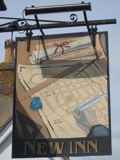 New Inn sign