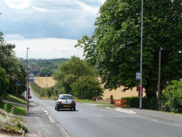 Bus stops on Spittal Hardwick Lane