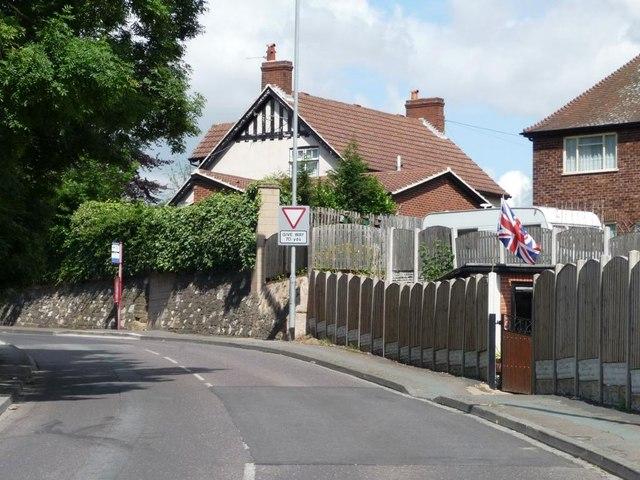 Flying the flag in Spittal Harwick Lane