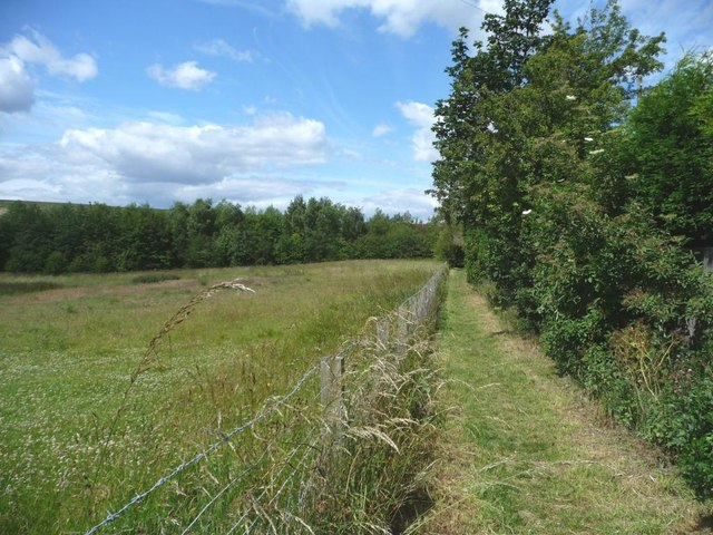 Footpath off Spittal Hardwick Lane