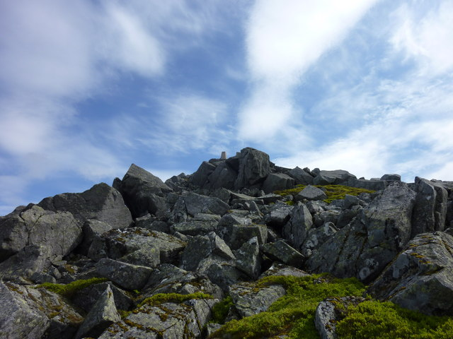 Boulders on The Buck Summit