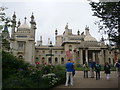 TQ3104 : Brighton: Royal Pavilion entrance by Chris Downer