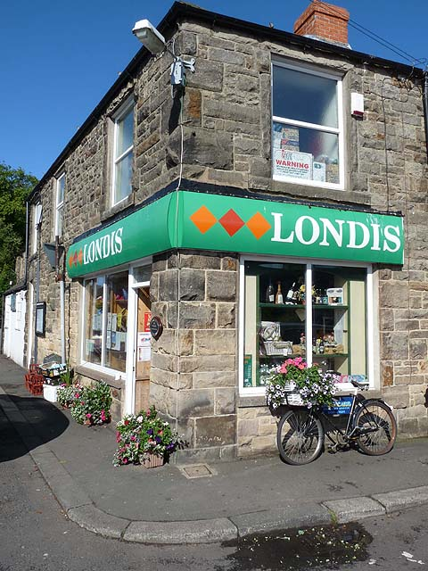 Village shop, Longframlington