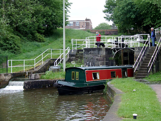 Bedford Street Locks at Etruria, Stoke-on-Trent