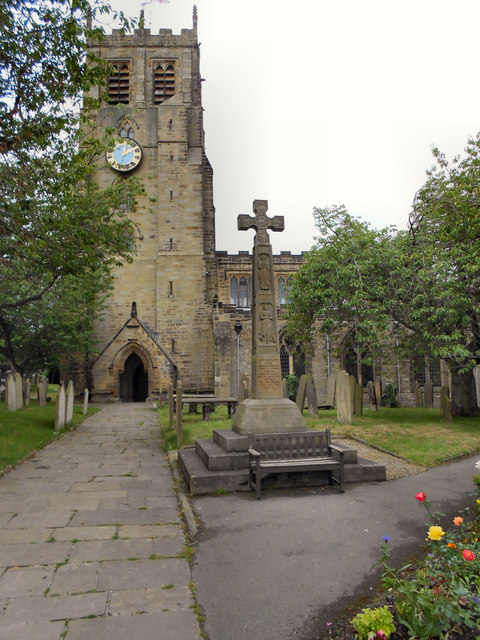 St Gregory's Church and War Memorial, Bedale