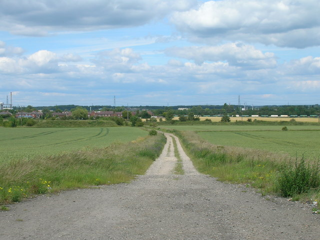 Track to Parkbalk Quarry