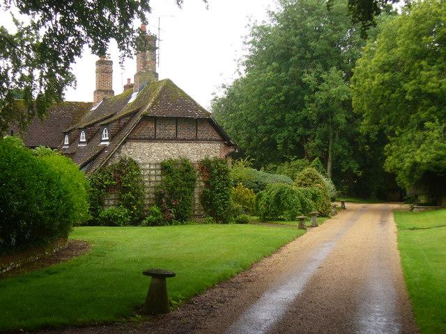 Bighton House Driveway
