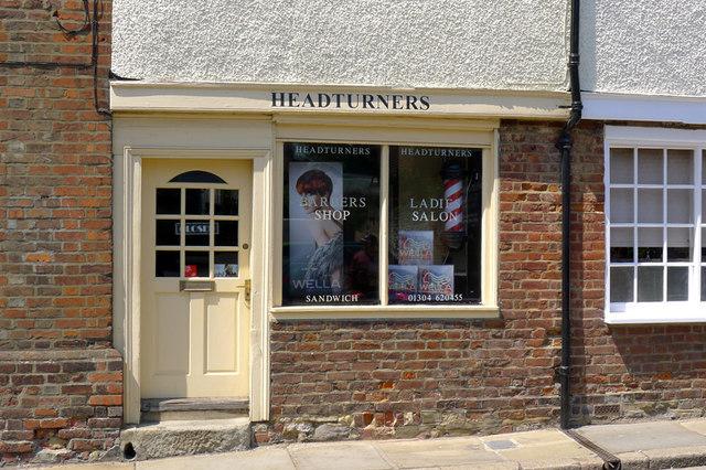 Headturners, Harnet Street, Sandwich