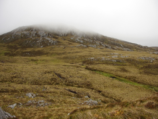Southern slopes of Sgorr na Diollaid