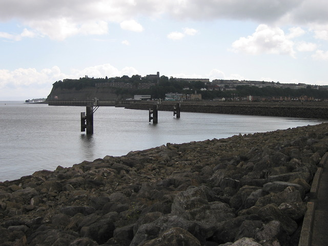 Cardiff bay barrage and Penarth Head