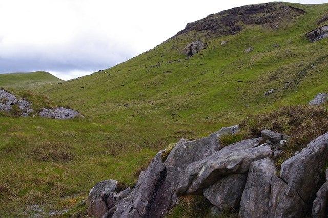 The cave (An Uamha) on Beinn na h-Uamha
