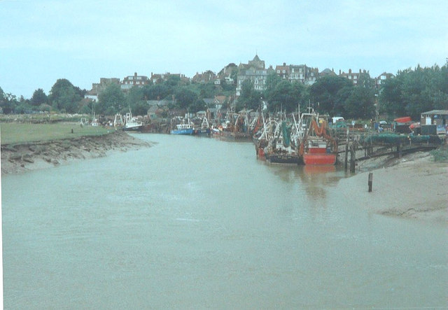 River Rother at half-tide in 1994