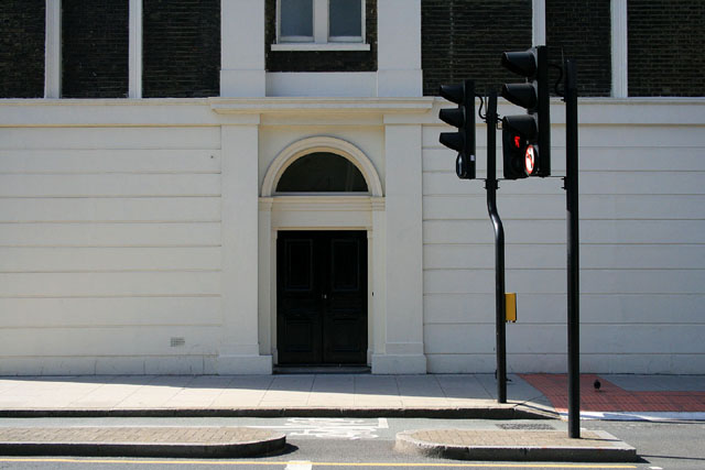 Doorway on Tavistock Place