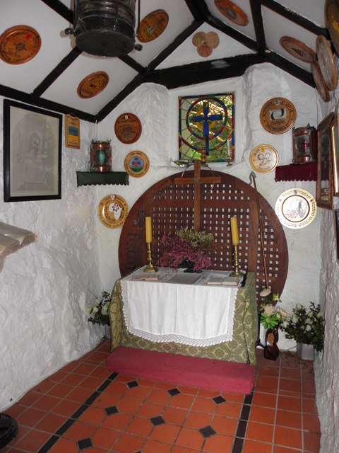 Interior, St Gobban's Church, Portbraddan