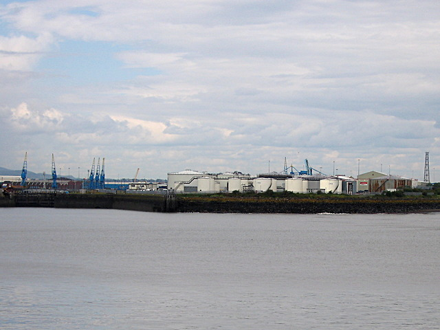 Liquid storage at Cardiff Docks