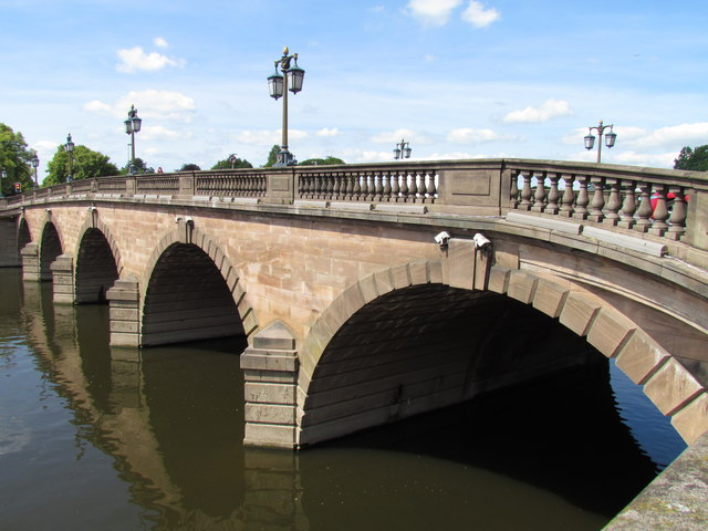 River Severn, Worcester Road Bridge