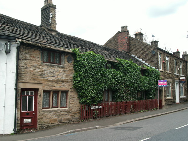 Ivy clad cottage in Hadfield Road