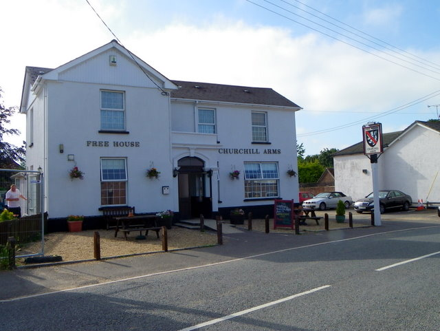 The Churchill Arms, Sturminster