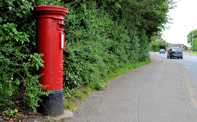 Pillar box, Newtownards