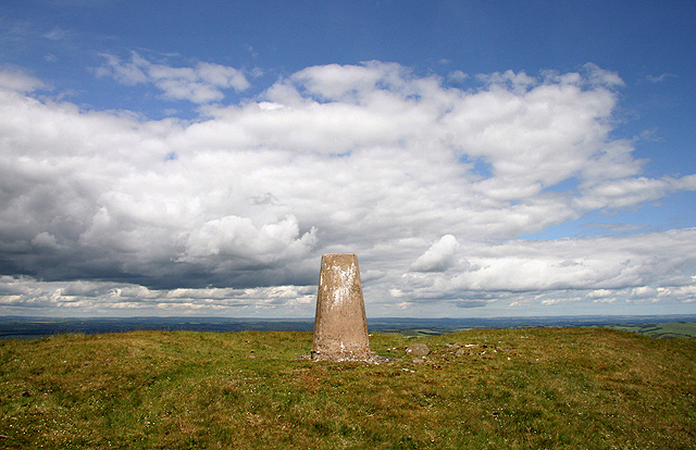The triangulation pillar on Hownam Law