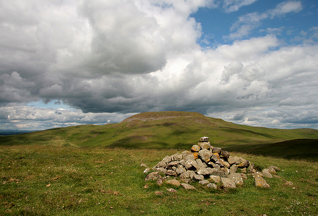 A cairn on Place Hill