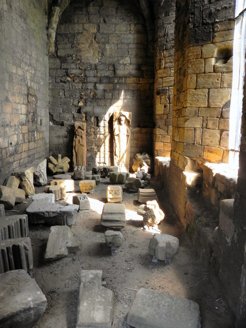 Tynemouth Priory, Prior's Hall Interior