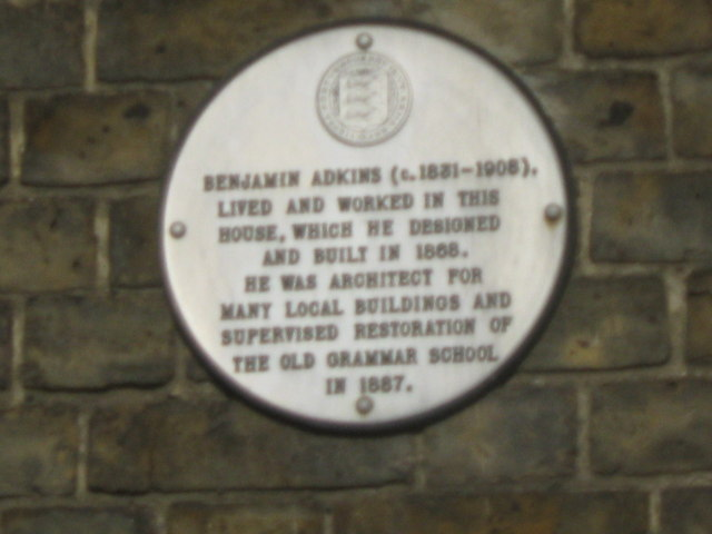 Plaque on Newton Lodge