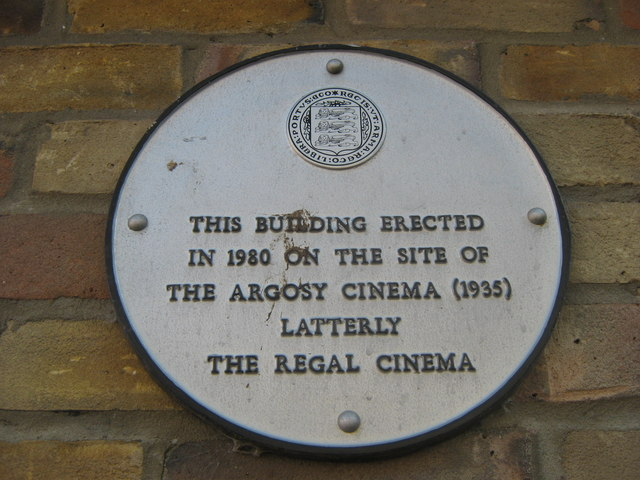 Plaque on M&Co Shop, Faversham
