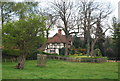 TQ9843 : Loudon Cottages, Godinton Park by Nigel Chadwick