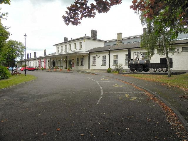 Darlington Railway Museum Classic Car Show