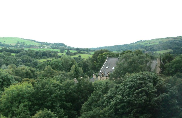View of River Etherow Valley