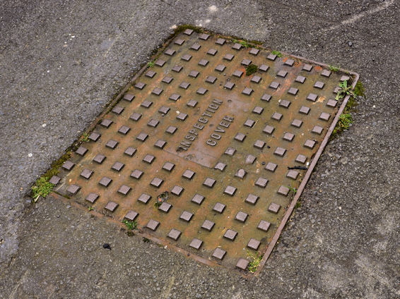 Inspection cover, Donaghadee