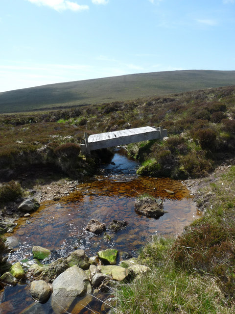 Disused bridge across the Burn of the White Horse, Hoy, Orkney