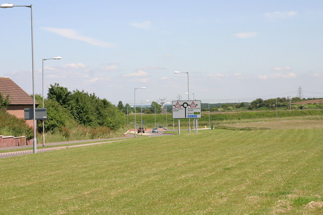 Open Grass Area located along, Lichfield Southern Bypass  (4)