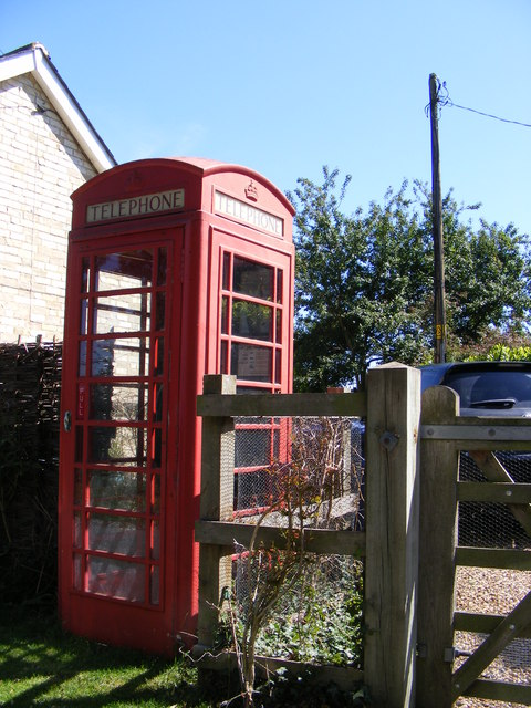 Papworth St.Agnes Telephone Box