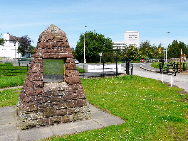 Commemorative pyramid, Barton Laws Playing Field