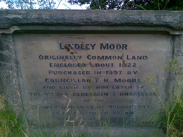 Lindley Moor stone north of M62