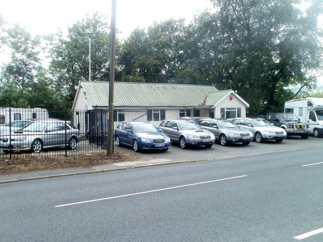 Southern section of Keith Price Garages, Llanwenarth