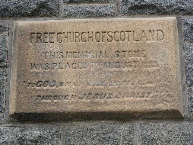Oban Free Church of Scotland