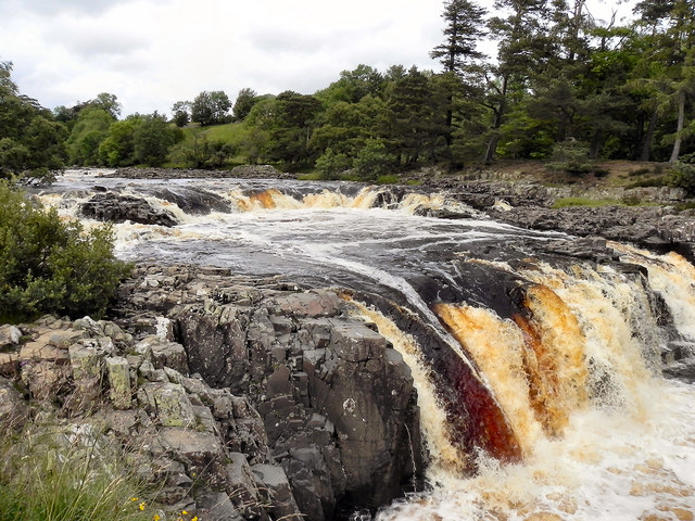 Low Force Waterfalls, River Tees