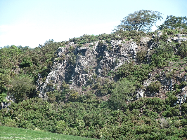 Crags, Balgone Heughs